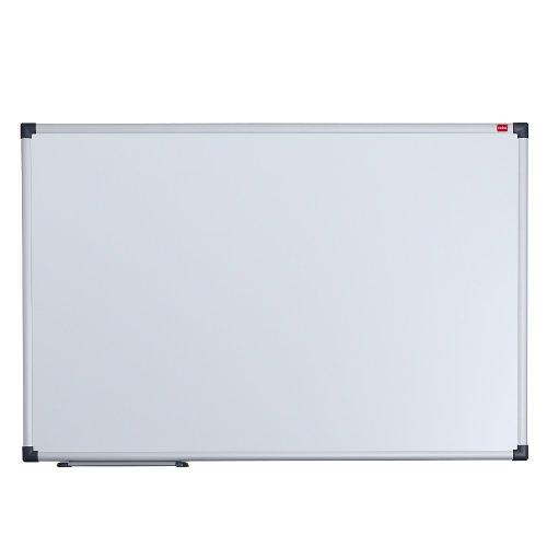 Nobo-Elipse-Pizarra-magntica-600-x-450-mm-acero-con-marco-de-aluminio-se-borra-sin-residuos-color-blanco