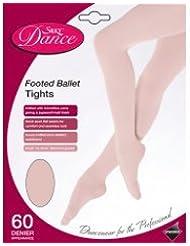 Sedoso de pie completo Spandex medias de ballet, Niños, adulto, Negro, Rosa, Beige o blanco