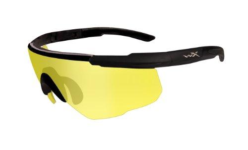 Wiley X Schutzbrille Saber Advanced, Matt Schwarz, M/XL, 300