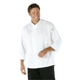 CoolVent Executive Chefs Jacket - White Size XS by Nextday Catering Equipment Supplies UK