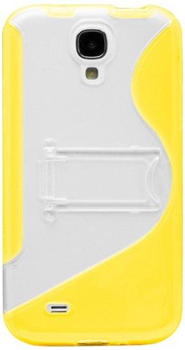 Katinkas Soft Cover Etui en silicone pour Samsung Galaxy S4 Jaune
