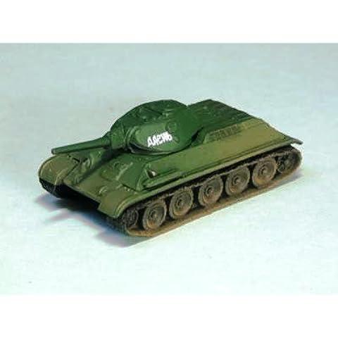 1/144 del tanque Serie Mundial Museo 03-51 T34 / 76 tanque medio 1941 el año del modelo lema separado