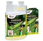 Zapi zanzare insetticida concentrato B.i.a. 1 litro Zapi Zanzare Concentrato B.I.A. è un insetticida di nuova generazione in grado di svolgere un'azione insetticida immediata e lungamente attiva contro le zanzare che infestano il verde (tappeti erbos...
