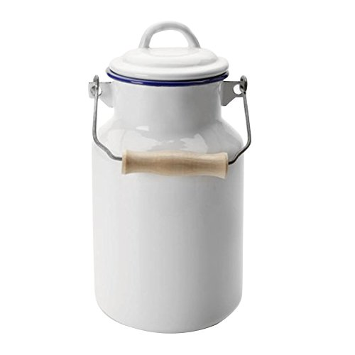 IBILI Milk Churn, Blanco/Azul, 1 L