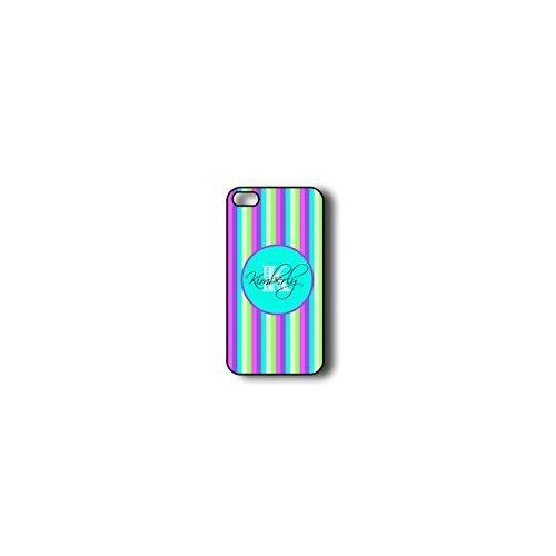 krezy monogramme iPhone 6Plus Coque, coloré à rayures iPhone 6Plus Coque Monogramme, MONOGRAMME pour iPhone 6Plus, iPhone 6Plus Coque Housse