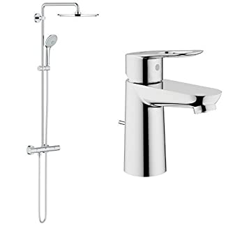 31inn9XB8OL. SS324  - Grohe Euphoria XXL System 310 - Sistema de ducha con termostato + 23335000 - Grifo de baño