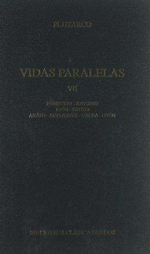 Vidas paralelas VII (B. BÁSICA GREDOS) por Plutarco
