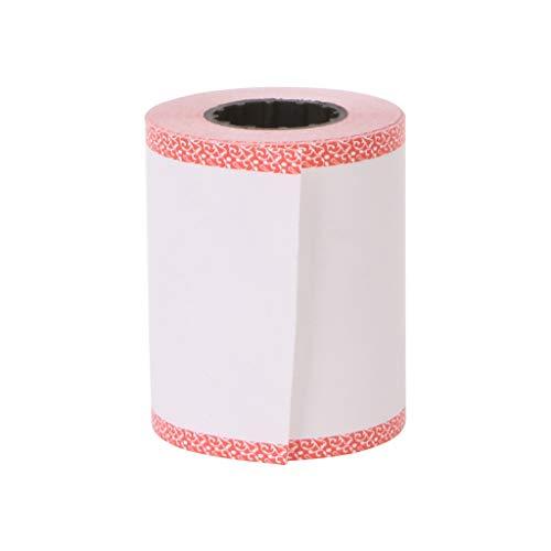 Baodanjiayou Thermorollen 57 x 45 mm für Memobird Fotodrucker 57x45mm(2.24x1.77in)(approx) Pink edge