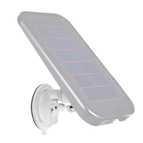 Smart Sicherheit Saugnapf Suction Cup Mount für Arlo Solar Panel-Wand Verstellbar 's und Andere kompatible Modelle von Wasserstein (Schwarz), Weiß