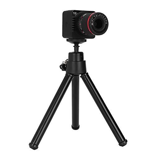 Garsent Digital-Teleskop, 50-facher Zoom WiFi 1080P HD-Telefon Digital-Teleskop-Unterstützung 32G TF-Karten mit Stativ für Luftaufnahmen, Heim-, Outdoor-, Astronomie-Fans usw. Luftaufnahmen Anzeigen