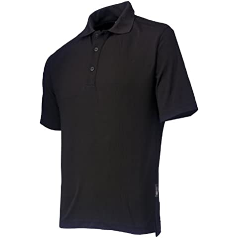 Helly Hansen Workwear 34-079044-990-XL - Polo, unisex, color negro, talla XL