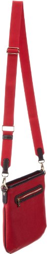 Bogner Leather Borsa Messenger Crossing Sara Rot (red 239)