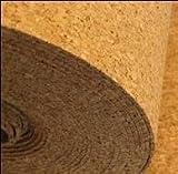 10 m² 2 mm IHK - Kork Trittschalldämmung - Dämmunterlage - Größe: 10 m x 1 m x 2 mm