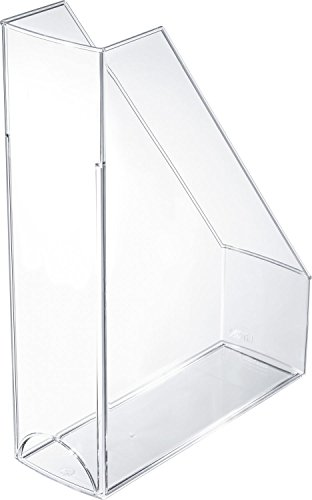 Helit H2361402 portariviste Economy, DIN A4 - C4, in plastica, trasparente