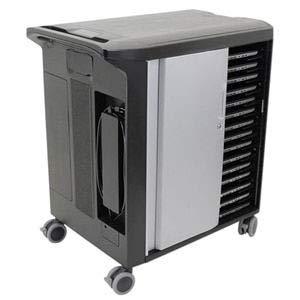 DELL 210-ANXY mueble y soporte para dispositivo multimedia Multimedia cart Negro, Gris Portátil - Soporte para equipo multimedia (Multimedia cart, Negro, Gris, Portátil, 4 rueda(s), Llave, 1059 mm)