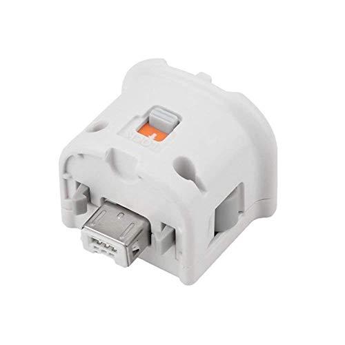 YiYunTE Motion Plus Adapter für Wii Remote Controller Externer Motion Plus Sensor Zubehör für Nintendo Wii Wii U Fernbedienung