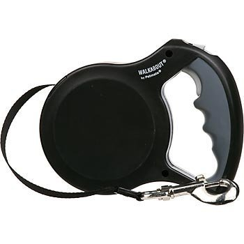 petmate-walkabout-retractable-belted-leash-for-dogs-up-to-110-pounds-16-feet-large-black-by-petmate-