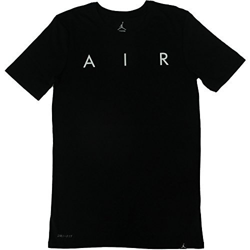 Nike Herren T-shirt Jordan Rise Photo, Black/(White), M, - T-shirt Jordan