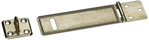 garage-tur-silber-ton-edelstahl-vorhangeschloss-verschluss-haspe-und-staple-102-cm
