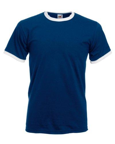 fruit-of-the-loom-maglietta-100-cotone-uomo-xxl-blu-navy-bianco