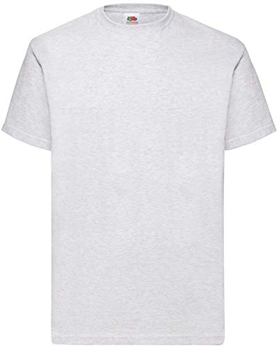 Fruit of the Loom 8 T Shirts Valueweight T Rundhals M L XL XXL 3XL 4XL 5XL Übergröße Diverse Farbsets (2XL, Grau)