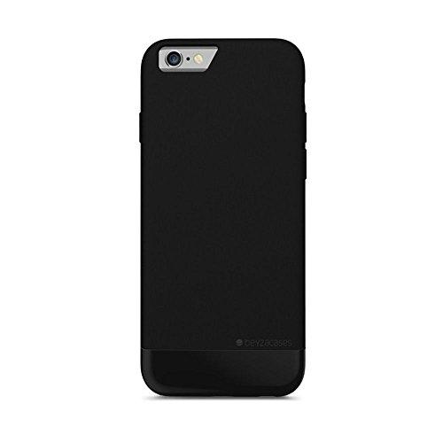 Beyzacases BZ05373 Slide Schutzhülle für Apple iPhone 6/6S tricorn schwarz (Tricorn Schwarz)