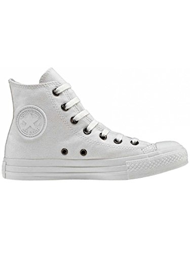 Converse Chuck Taylor All Star Seasonal, Sneakers Hautes Mixte Adulte Blanc
