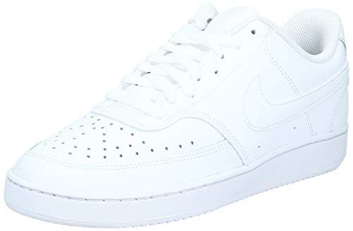 Nike Herren Court Vision Lo Basketballschuhe, Weiß (White/White-White 100), 42 EU