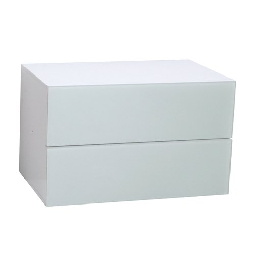 Phoenix Atlanta Schubladencontainer, Holz, Weiss, 38.00x55.00x34.00 cm