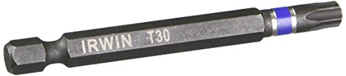 Irwin Tools 1837624 Torx T30 Impact Performance Serie Power Bit, 2-3/10,2 cm -