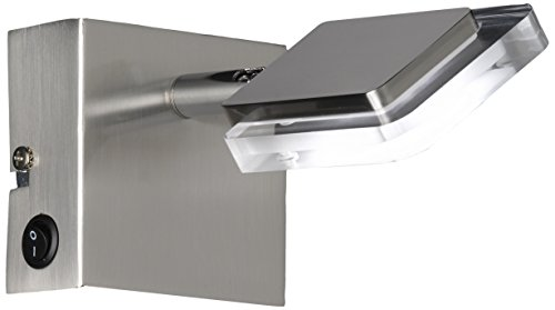 Wofi 4254.01.64.0000 Vileta Applique LED Nickel Mat 4,5 W