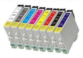 Prestige Cartridge T0540-9 Cartouches d'encre compatible pour Epson Stylus Photo R800/R1800 - Deux Ensembles plus deux optimiseur de brillance, Lot de 18