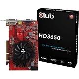 Club 3d ATI Radeon HD3650 Grafikkarte (AGP, 512MB GDDR2 Speicher, DVI, 1 GPU)