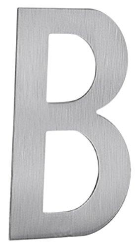 Beslagsboden B991 Lettre de boîte aux lettres B autocollant en Acier Inoxydable Brossé