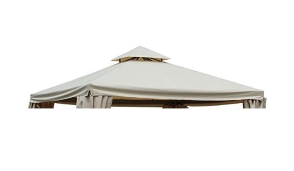 Telo di ricambio copertura per gazebo dallas lusso vacchetti
