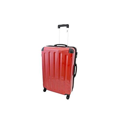 IMEX Hartschalen Koffer Trolley in ROT Größe XLARGE