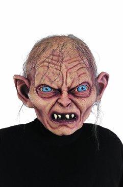 Herr der Ringe / Hobbit Gollum Maske Kostüm Zubehör Latex Voll Maske Erwachsene (Frodo Kostüm)