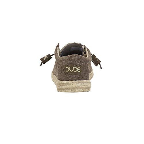 Dude Shoes , Basses homme Marron