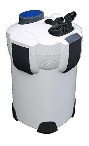 AquaOne Aquarium Außenfilter HW-304A Filter 2000 L/h 1000l Becken Filtermaterial Pumpe Schwammfilter Leise