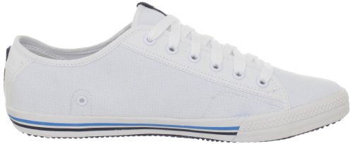 Helly Hansen Fjord Canvas, Sneakers Basses Homme Blanc / Bleu (001 White / Navy / Azure Blue)