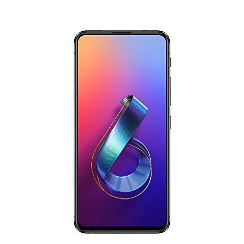 Asus ZenFone 6 Dual-SIM Smartphone (48 + 13 MP Flip-Kamera, 6, 4 Zoll (16 cm) FHD-Display, 128 GB interner Speicher, 6 GB RAM, Android 9.0 Pie, 5000 mAh Akku) - Midnight Black (Handy Asus Zenfone 5)