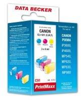 Data Becker 311072 C91 Tintenpatrone ohne Chip für Canon Series multipack - Canon Pixma Drucker-software