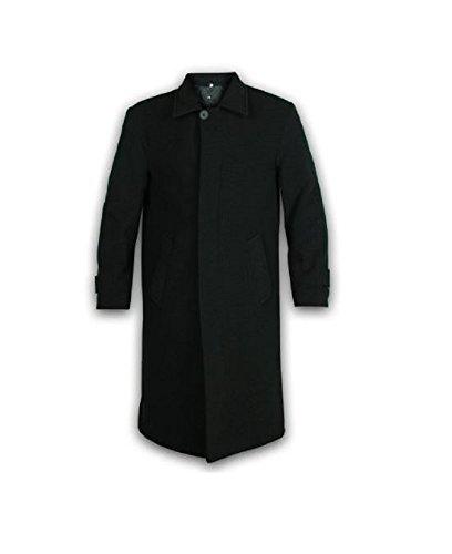 Classic Design - Cappotto - Montgomery - Basic - Maniche lunghe - Uomo, Black, XXX-Large