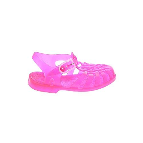 Méduse - Sandales fille en plastique rose fluo Rose