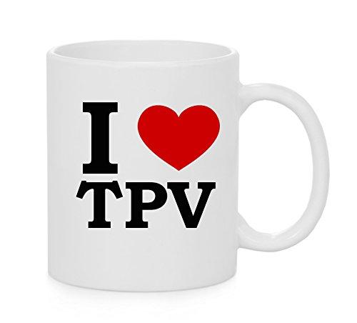 I herz TPV ( Love ) Offizielles Tasse