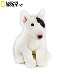 Lelly lelly742293Axel Bull Terrier de Peluche, Sentado, 23cm