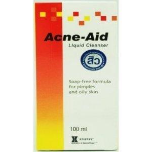 Er Flüssigreiniger (Acne-Aid, Akne-Aid Flüssigreiniger Soap-Freie Formel Für Pickel Und Fettige Haut 100Ml.)