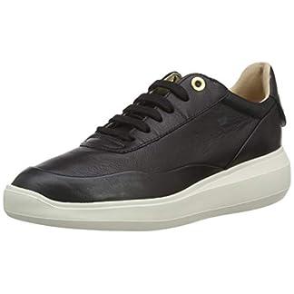 Geox Damen D Rubidia A Sneaker, weiß 1