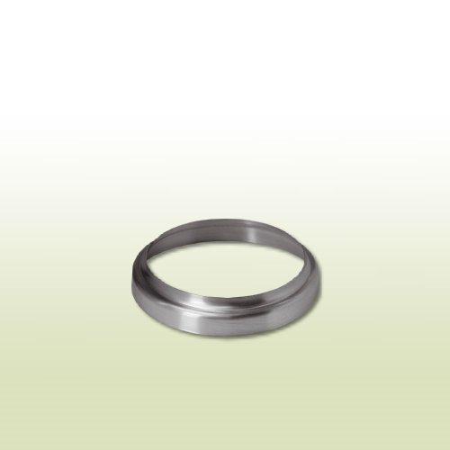 fallrohr verzinkt Titanzink Standrohrkappe flach DN 100/115 für Standrohr DN 100