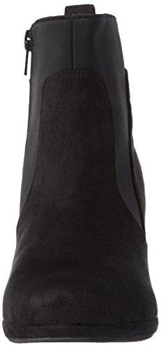 Andrea Conti 1000637, Bottes Classiques femme Noir - Schwarz (Schwarz 002)